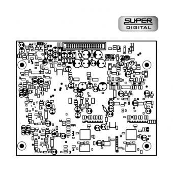 Super Digital 20MHz, placa delay pentru EPAK2500R