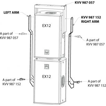 Suport vertical pentru EX12/ESD12