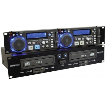 OMNITRONIC XDP-2800 Dual CD/MP3 Player #2