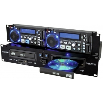 OMNITRONIC XDP-2800 Dual CD/MP3 Player #4