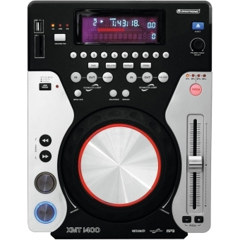 OMNITRONIC XMT-1400 Tabletop CD Player #3