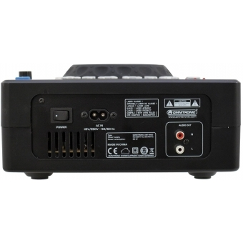 OMNITRONIC XMT-1400 Tabletop CD Player #4