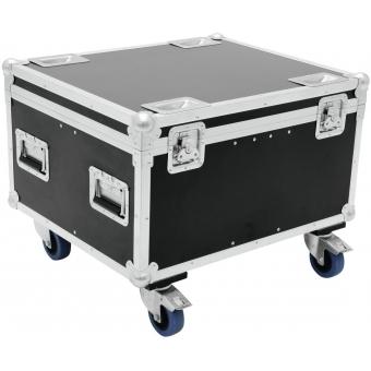ROADINGER Flightcase 4x TMH-30/TMH-40/TMH-60