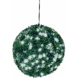 EUROPALMS Boxwood ball with white LEDs, 40cm
