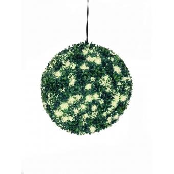 EUROPALMS Boxwood ball with warm-white LEDs, 40cm