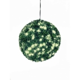 EUROPALMS Boxwood ball with warm-white LEDs, 40cm