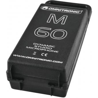 OMNITRONIC M-60 Dynamic Microphone #3