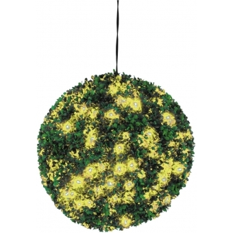 EUROPALMS Boxwood ball with yellow LEDs, 40cm #1
