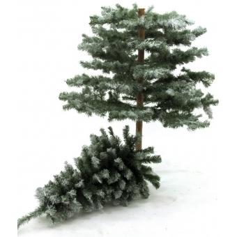 EUROPALMS Fir tree, snow-flocked, 180cm #3