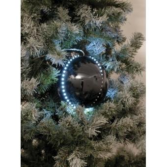 EUROPALMS LED Snowball 15cm, black #2