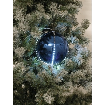 EUROPALMS LED Snowball 15cm, dark-blue #2