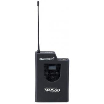 OMNITRONIC TM-1500 Pocket transmitter