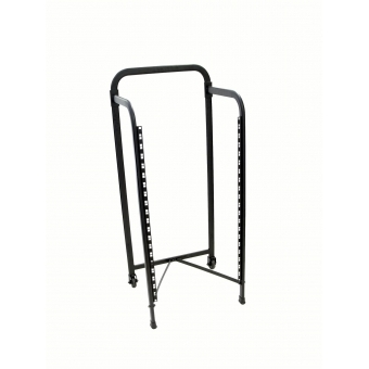 OMNITRONIC Rack stand 19U with 2 wheels #4