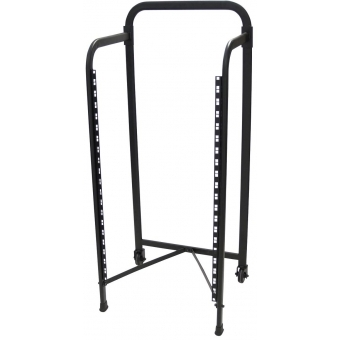 OMNITRONIC Rack stand 19U with 2 wheels #2