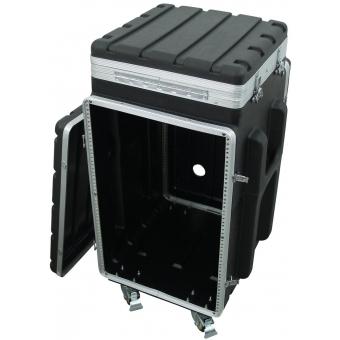 ROADINGER Combi case plastic 10/16U with wheels #2