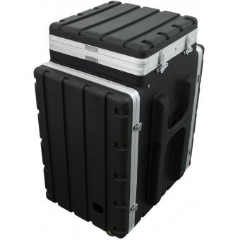 ROADINGER Combi case plastic 10/16U with wheels #3