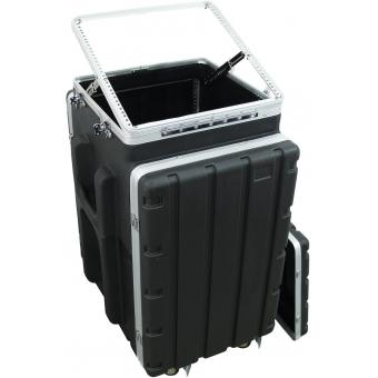 ROADINGER Combi case plastic 10/16U with wheels #4