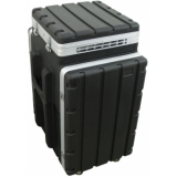 ROADINGER Combi case plastic 10/16U with wheels