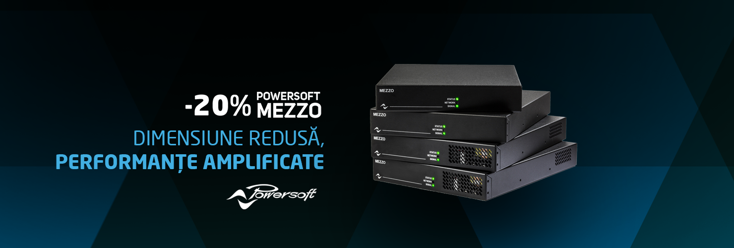 Powersoft Mezzo Series