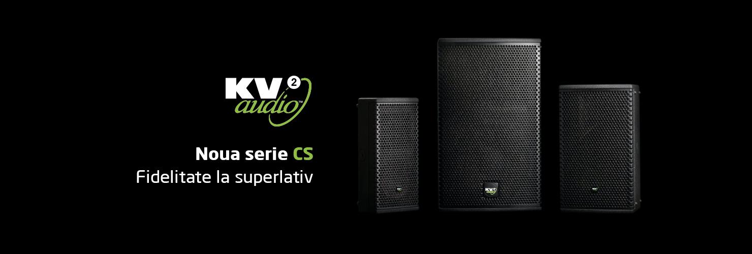 KV2 Audio CS Series